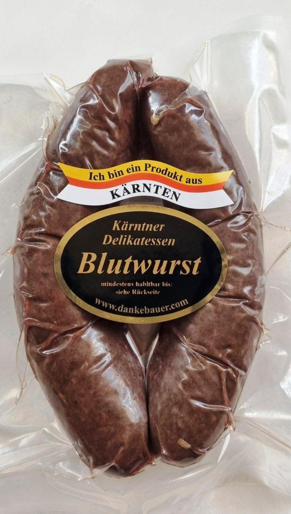 Blutwurst-Blunzn-Breinwurst-